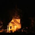 Berger Kirche bei Nacht