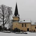 Berger Kirche im Winter 2010
