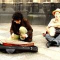 Straßenmusiker in Köln
